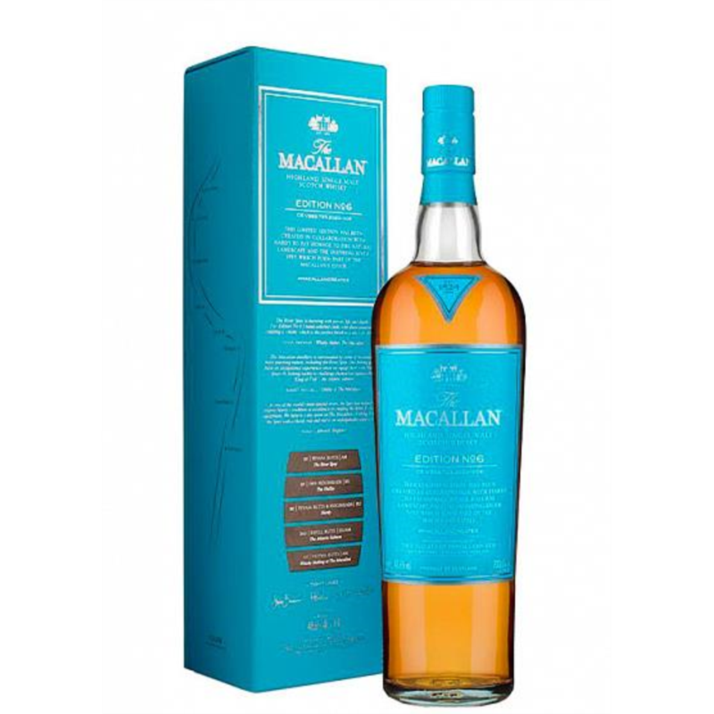 WHISKY MALTA MACALLAN EDITION Nº6/MAXXIUM