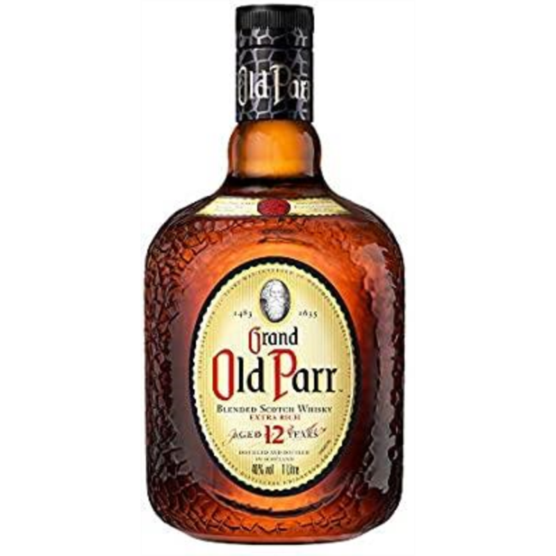 WHISKY OLD PARR 12 Y. 1 LITRO /DIAGEO